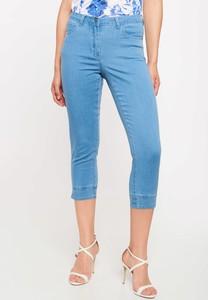 Niebieskie jeansy QUIOSQUE w street stylu z jeansu