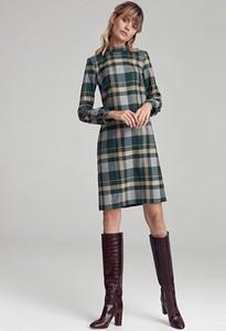 Sukienka Colett mini z długim rękawem w stylu casual