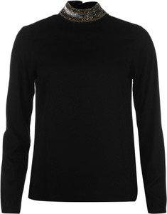 T-shirt Vero Moda Dacia Embellished Long Sleeve Top