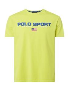 T-shirt POLO RALPH LAUREN w młodzieżowym stylu z krótkim rękawem z bawełny