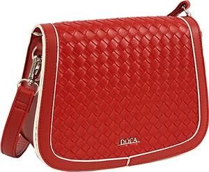 Czerwona torebka Doca na ramię