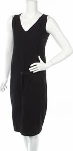 Czarna sukienka Raffaello Rossi bez rękawów w stylu casual prosta