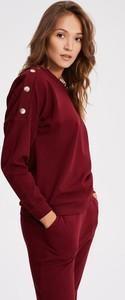 Czerwona bluza Diverse krótka