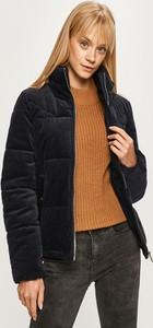Granatowa kurtka Vero Moda z bawełny krótka