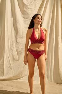 Czerwony strój kąpielowy ORSAY w stylu casual