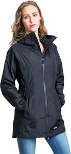 Czarna kurtka Trespass długa w stylu casual
