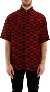 Czerwona koszula 424 z tkaniny