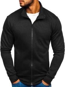Czarna bluza Denley z bawełny w stylu casual