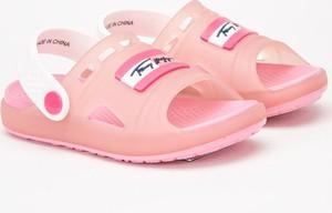 Różowe buty dziecięce letnie Tommy Hilfiger dla dziewczynek