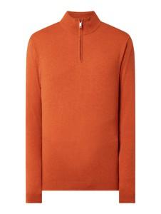 Pomarańczowy sweter McNeal w stylu casual