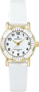 Zegarek na komunię damski PERFECT - L248-8A -biały