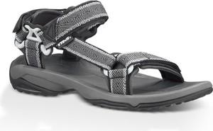 Czarne buty letnie męskie Teva na rzepy