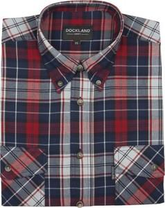 Koszula Dockland w stylu casual z bawełny z krótkim rękawem
