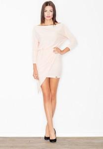 Sukienka Figl oversize z długim rękawem mini