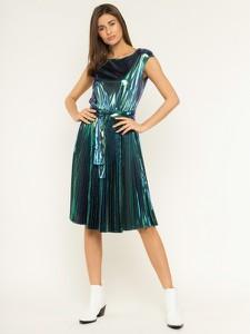 Zielona sukienka Max & Co. rozkloszowana