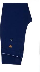 Niebieskie spodnie LANCERTO z tkaniny
