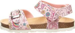 Buty dziecięce letnie Billowy na rzepy ze skóry