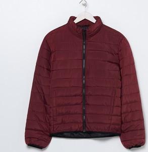 Fioletowa kurtka Sinsay w stylu casual