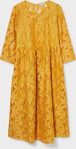 YESSICA C&A Sukienka ciążowa, żółty, Rozmiar: XS