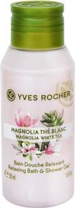 Yves Rocher Mini kremowy żel pod prysznic Magnolia i Biała Herbata