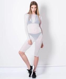 Sukienka REST_FActory w sportowym stylu z długim rękawem