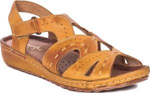 Sandały Maciejka w stylu casual ze skóry