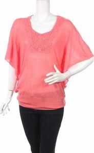 Różowy sweter Target w stylu casual