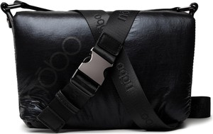 Czarna torebka NOBO na ramię matowa średnia