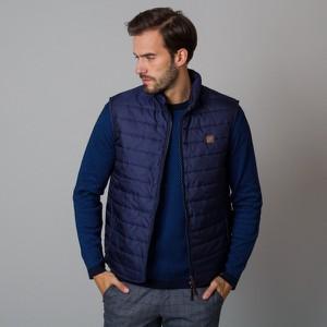 Granatowa kurtka Willsoor w stylu casual krótka