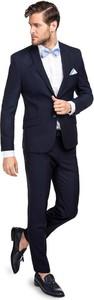 Czarny garnitur Giacomo Conti z jedwabiu