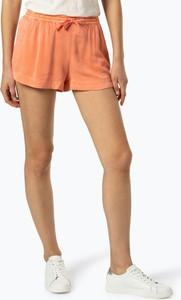 Pomarańczowe szorty Review w stylu casual