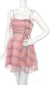 Różowa sukienka Aura mini