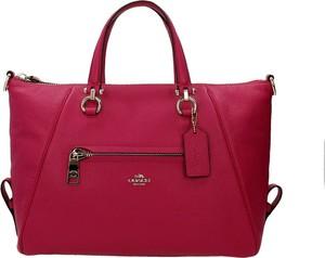 Czerwona torebka Coach na ramię