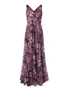 Sukienka Troyden Collection z dekoltem w kształcie litery v bez rękawów