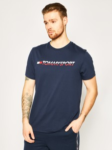 T-shirt Tommy Sport z krótkim rękawem
