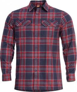Czerwona koszula Pentagon w stylu casual