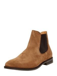 Brązowe buty zimowe Selected Homme