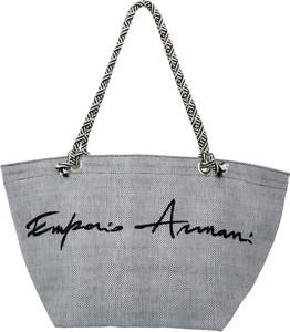 687430270c1ea Torebka Emporio Armani w wakacyjnym stylu duża na ramię