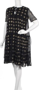 Czarna sukienka Manoush prosta