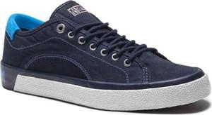 Sneakersy Napapijri z płaską podeszwą sznurowane