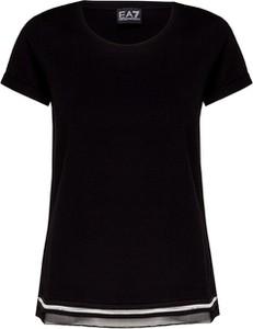 T-shirt EA7 Emporio Armani z bawełny
