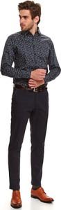 Koszula Top Secret z klasycznym kołnierzykiem w stylu casual