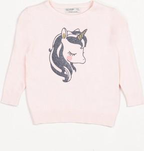 Różowa bluza dziecięca born2be
