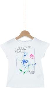 Koszulka dziecięca Pepe Jeans z bawełny z krótkim rękawem