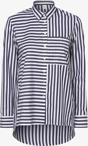 Bluzka Eterna Premium z kołnierzykiem z bawełny