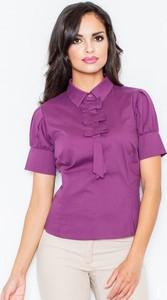 Fioletowa bluzka Figl