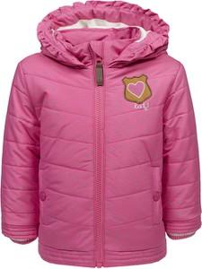 Różowa kurtka dziecięca Lief dla dziewczynek