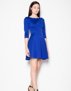 Niebieska sukienka Venaton mini