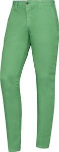 Zielone chinosy Lavard