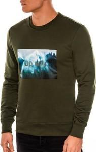 Bluza Ombre z nadrukiem